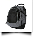 Union Square Backpack by Liberty Bags Embroidery Blanks - BLACK/GRAY