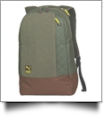 21.8L Switchstance Backpack by Puma Embroidery Blanks - BURNT OLIVE