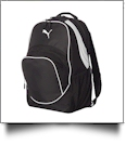 21.2L Outlander Backpack by Puma Embroidery Blanks - BLACK/BLACK
