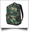 21.2L Outlander Backpack by Puma Embroidery Blanks - CAMO/BLACK