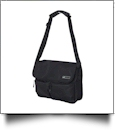 23L Outlander Shoulder Bag by Puma Embroidery Blanks - BLACK/BLACK