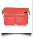 23L Outlander Shoulder Bag by Puma Embroidery Blanks - GRENADINE/QUARRY