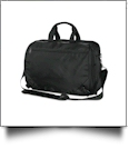 18L Sentinel Executive Briefcase by Stormtech Embroidery Blanks - BLACK
