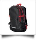 Waterproof Backpack by Stormtech Embroidery Blanks - BLACK/FLAME RED