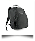 Commuter Backpack by Fortress Embroidery Blanks - BLACK