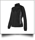 Augusta Sportswear Ladies' Brushed Tricot Medalist Jacket Embroidery Blanks