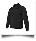 Weatherproof Ladies' Colorblock Beacon Jacket Embroidery Blanks - BLACK/BLACK