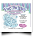 Pop Paisley Embroidery Designs by Hope Yoder