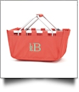 Foldable Market Tote Embroidery Blanks - CORAL