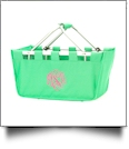 Foldable Market Tote Embroidery Blanks - MINT