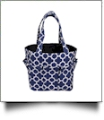 The Coral Palms® Canvas Craft & Garden Multi-Purpose Carry-All Tote - NAVY - CLOSEOUT