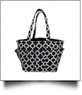 The Coral Palms� Canvas Craft & Garden Multi-Purpose Carry-All Tote - BLACK - CLOSEOUT