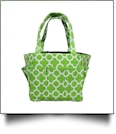 The Coral Palms� Canvas Craft & Garden Multi-Purpose Carry-All Tote - LIME - CLOSEOUT