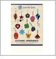 Cutwork Ornaments Collection 1 Embroidery Designs by Lunch Box Quilts on a CD-ROM