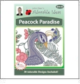 Peacock Paradise Embroidery Designs by John Deer's Adorable Ideas - Multi-Format CD-ROM