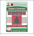 Quilter's Christmas with Applique Embroidery Designs by John Deer's Adorable Ideas - Multi-Format CD-ROM