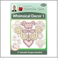 Whimsical Decor 1 Embroidery Designs by John Deer's Adorable Ideas - Multi-Format CD-ROM
