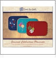 Seasonal Celebrations Applique Embroidery Designs by Lunch Box Quilts on a CD-ROM