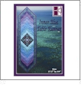 Inner Blue Table Runner Embroidery Designs on CD-ROM by KennyKreations
