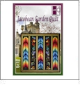 Jacobean Garden Quilt Embroidery Designs on CD-ROM by KennyKreations