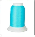 YLI Woolly Nylon Serger Thread - 1000 Meter Spool - RADIANT TURQUOISE