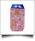 The Coral Palms® 12oz Neoprene Can Coolie - So Zebralicious Collection