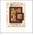 Halloween Fun Quilt Pattern & Design Collection Embroidery Designs by Lunch Box Quilts on a CD-ROM