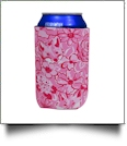 The Coral Palms® 12oz Neoprene Can Coolie - Foxy Floral Collection