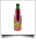 The Coral Palms� 12oz Long Neck Zipper Neoprene Bottle Coolie - Stargaze Soleil Collection