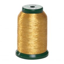KingStar Metallic Embroidery Thread - MG - 2 Gold (A470022) from DIME - 1000m Spool