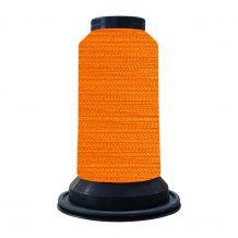 EF0005 Neon Orange Embellish Flawless 60wt High-Sheen Polyester Thread - 1000m Spool