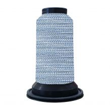 EF0310 Colony Blue Embellish Flawless 60wt High-Sheen Polyester Thread - 1000m Spool