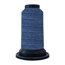 EF0318 Peacock Blue Embellish Flawless 60wt High-Sheen Polyester Thread - 1000m Spool