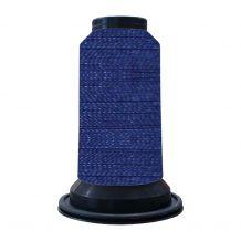 EF0335 Midnight Blue Embellish Flawless 60wt High-Sheen Polyester Thread - 1000m Spool