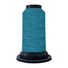 EF0393 Italian Blue Embellish Flawless 60wt High-Sheen Polyester Thread - 1000m Spool