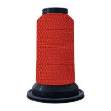 EF0702 Fire Engine Red Embellish Flawless 60wt High-Sheen Polyester Thread - 1000m Spool