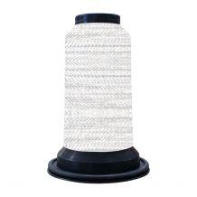 EF0801 Ice Cap Embellish Flawless 60wt High-Sheen Polyester Thread - 1000m Spool