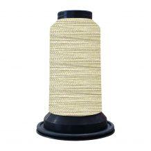 EF0811 Angora White Embellish Flawless 60wt High-Sheen Polyester Thread - 1000m Spool
