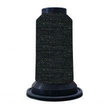 EF0900 Black Embellish Flawless 60wt High-Sheen Polyester Thread - 1000m Spool