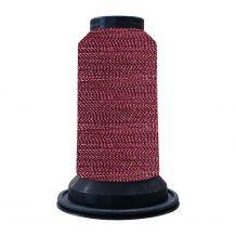 EF1906 Purple Pansies Embellish Flawless 60wt High-Sheen Polyester Thread - 1000m Spool