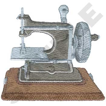 Antique Toy Sewing Machines Embroidery Designs By Dakota