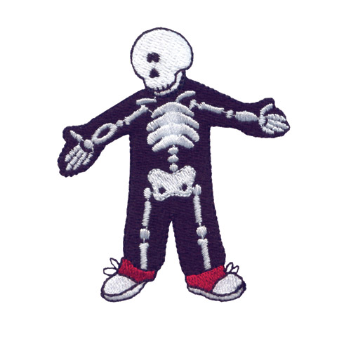 Funny bones embroidery designs by amazing on a