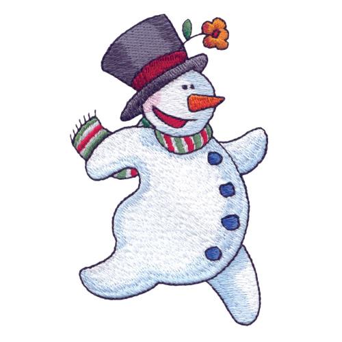 танцующий снеговик картинки акулы