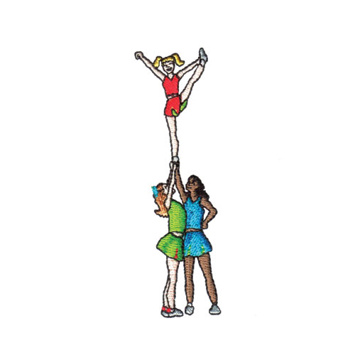 Cheerleading Spirit Embroidery Designs by Amazing Designs on a ...