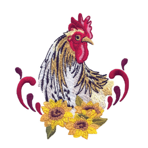 Barnyard Roosters Embroidery Designs For Amazing Designs On A Multi
