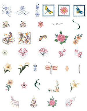 Brother Embroidery Cards and Machine Embroidery Designs